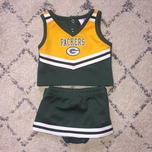 NWOT baby Green Bay Packers outfit